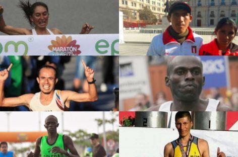 Atletas extranjeros que correrán la Media Maratón Internacional de Rionegro