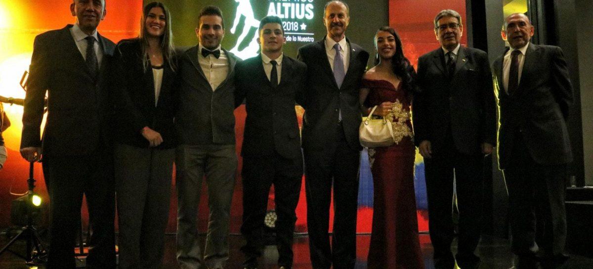 Erika Botero, protagonista en la gala de los Premios Altius 2018