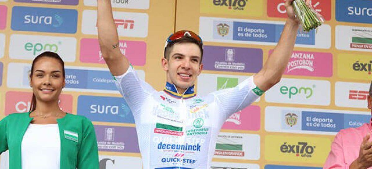 Álvaro Hodeg se quedó con la segunda etapa en La Ceja