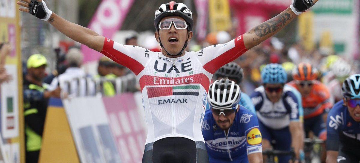 Juan Sebastián Molano se impuso en la tercera etapa del Tour Colombia