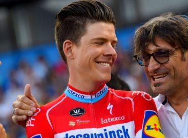 Bob Jungels ganó la cuarta etapa del Tour Colombia en Medellín