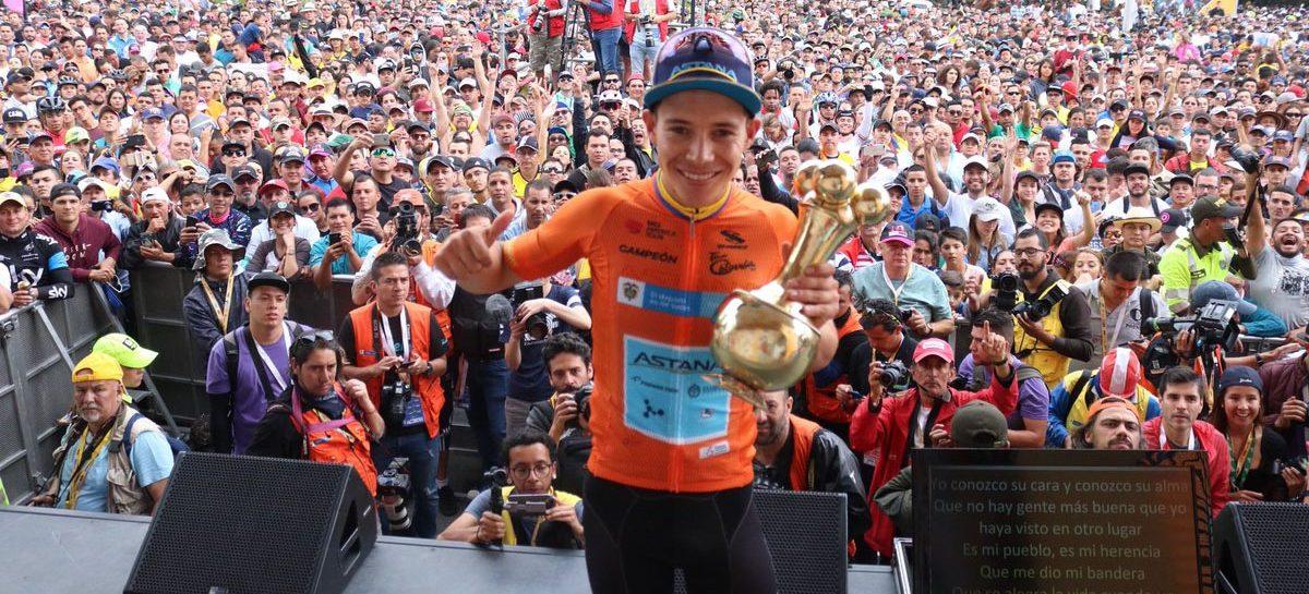 ¿Cuánto dinero se embolsilló Miguel Ángel López por ganar el Tour Colombia?