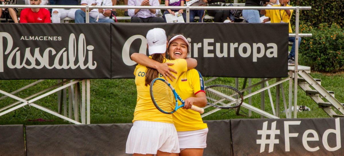 Arango y Osorio le dieron la primera victoria a Colombia en la Fed Cup