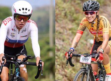 Estefanía Herrera y Daniela Atehortúa, las mejores del Oriente en la Vuelta al Valle