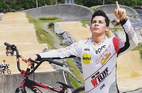 """Juan Camilo """"Goofy"""" Ramírez, elegido el mejor bicicrosista antioqueño en 2018"""