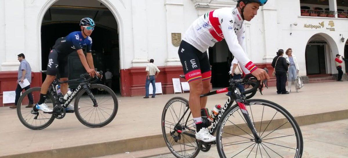 Sergio Luis y Sebastián Henao, listos para la París-Niza