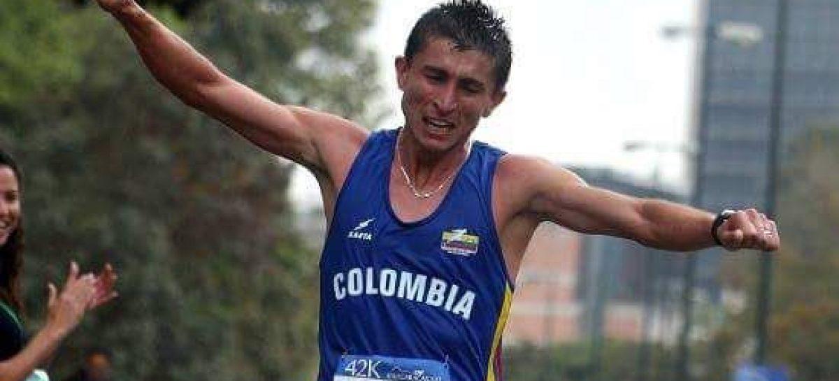 José David Cardona fue sexto en Media Maratón de Chile