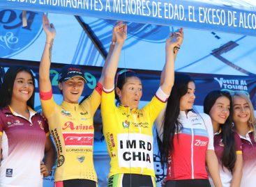 Herrera y Atehortúa, entre las mejores de la Vuelta al Tolima