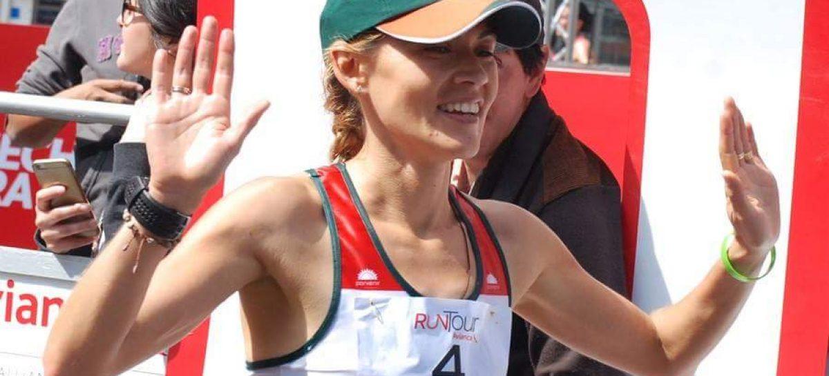 Carolina Tabares, entre las mejores de la carrera Run Tour Bogotá