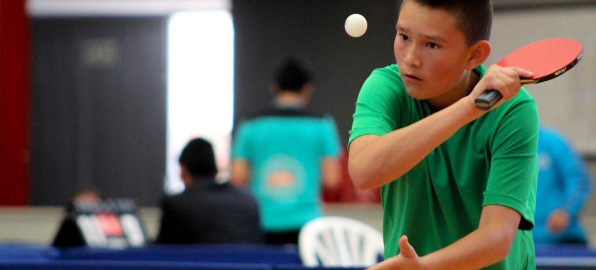 Federico Otálvaro competirá en el Sudamericano de Tenis de Mesa en Chile