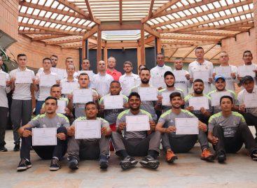 En Rionegro, 35 entrenadores recibieron la Metodología de la Fundación Real Madrid