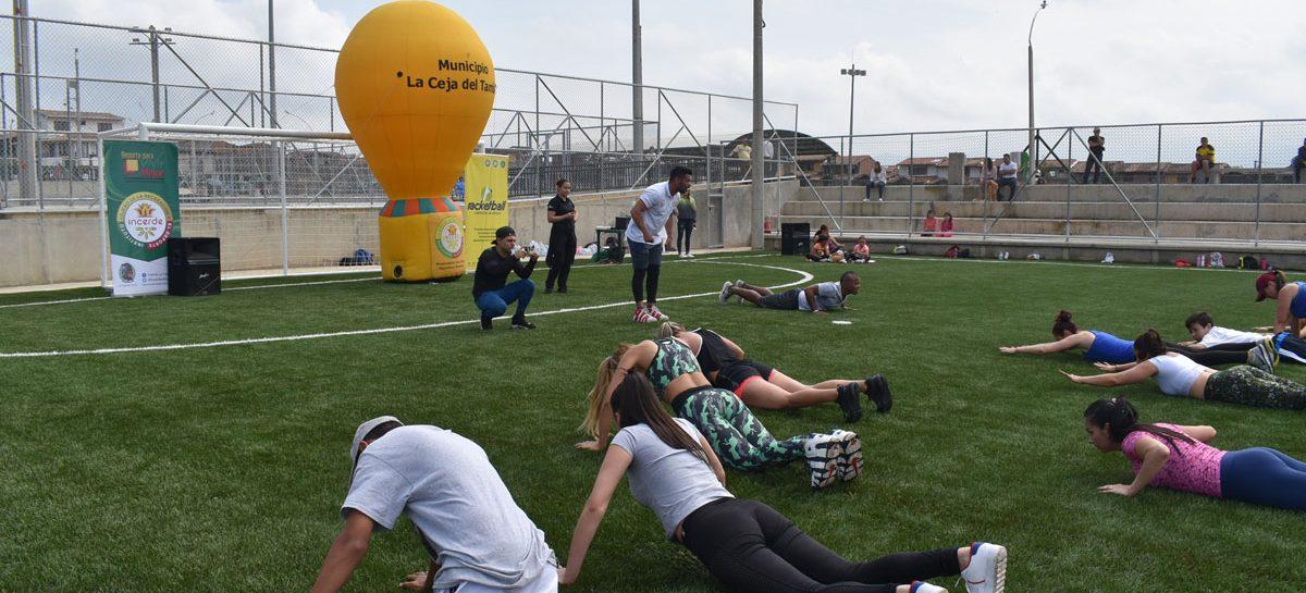 La Unidad Deportiva Suroccidente abrió sus puertas a todos los cejeños