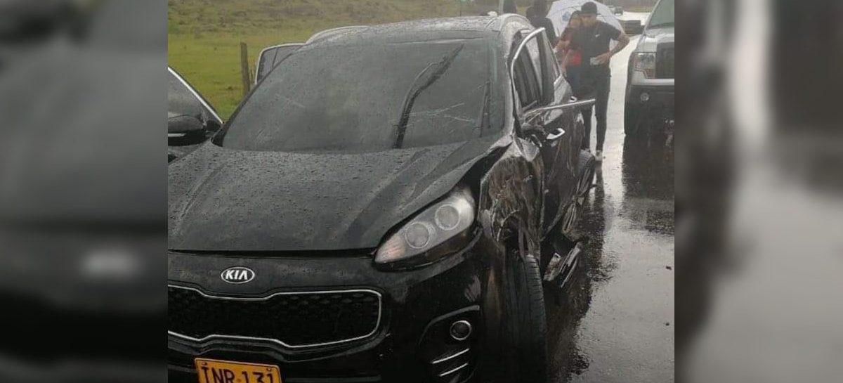 Tres jugadores del DIM sufren accidente en Llanogrande