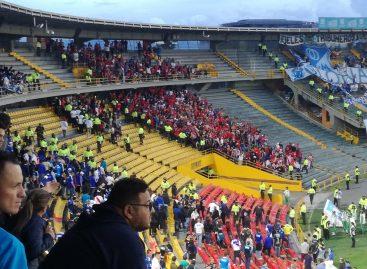 Hinchas del DIM protagonizaron disturbios en El Campín