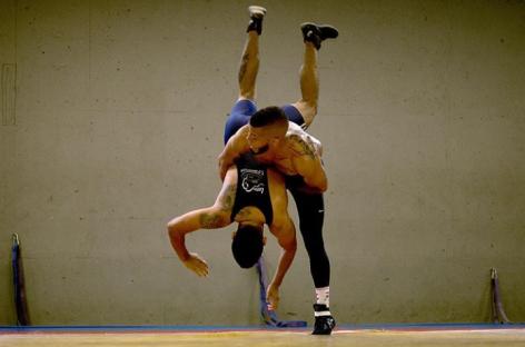 Deportistas cejeños ya están en Argentina para disputar el Panamericano de Lucha