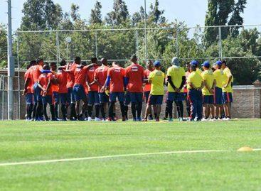 Avanza el microciclo de la Selección Colombia sub 20 en Guarne