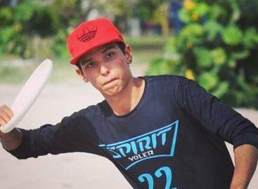 Sebastián García sueña con disputar el mundial de ultimate en Alemania