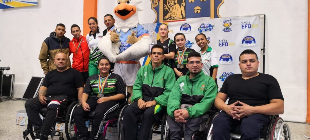Deportistas del Oriente lograron cupo a los Juegos Paranacionales en Bolívar