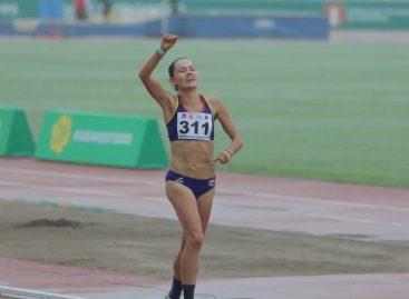 Oro para Carolina Tabares en el Sudamericano de Atletismo en Perú