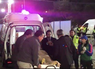 Por fuerte golpe, Catalina Usme pasó la noche en un hospital de Chile