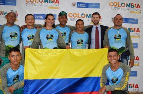 Exguerrilleros de las FARC participan en el mundial de Rafting en Australia