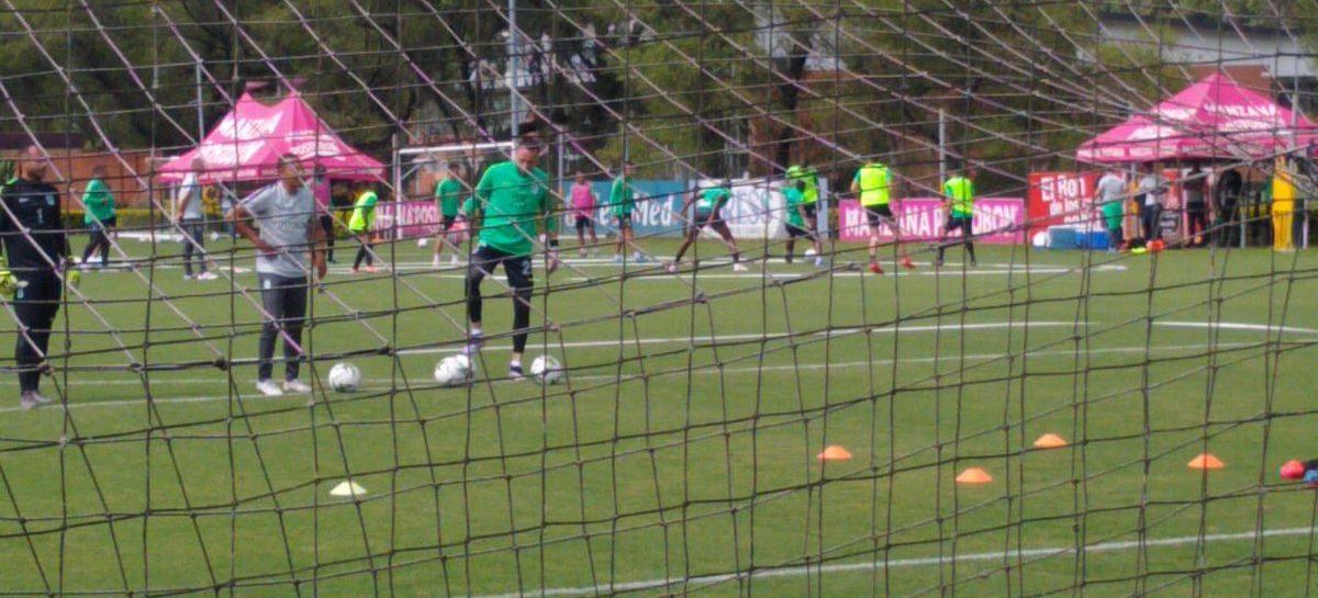 David Ospina entrena con Atlético Nacional en Guarne