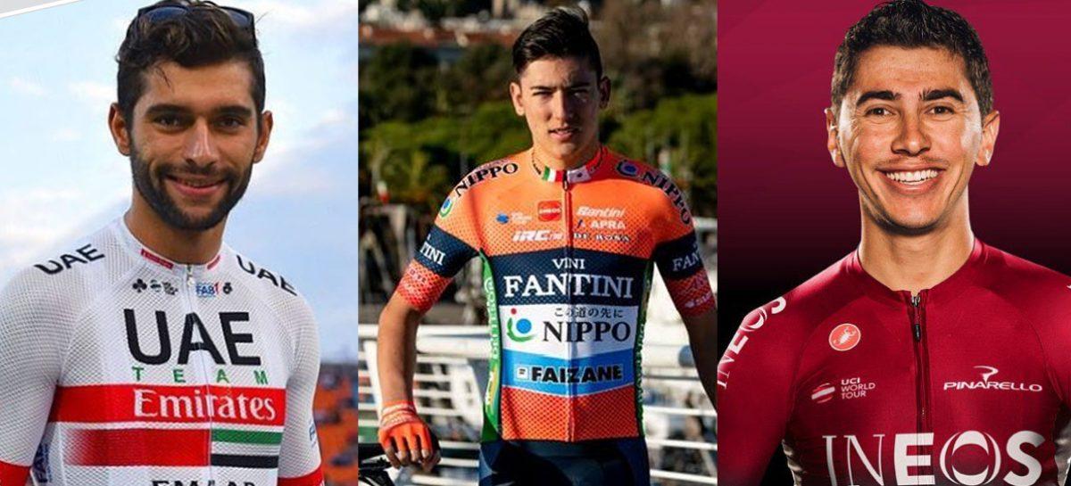 Tres pedalistas del Oriente correrán el Giro de Italia 2019