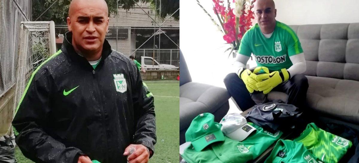 Yony Yepes es el nuevo entrenador de arqueros de Atlético Nacional