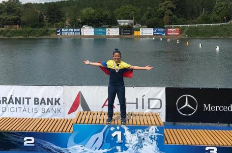 La peñolense Manuela Gómez ganó plata y bronce en Hungría