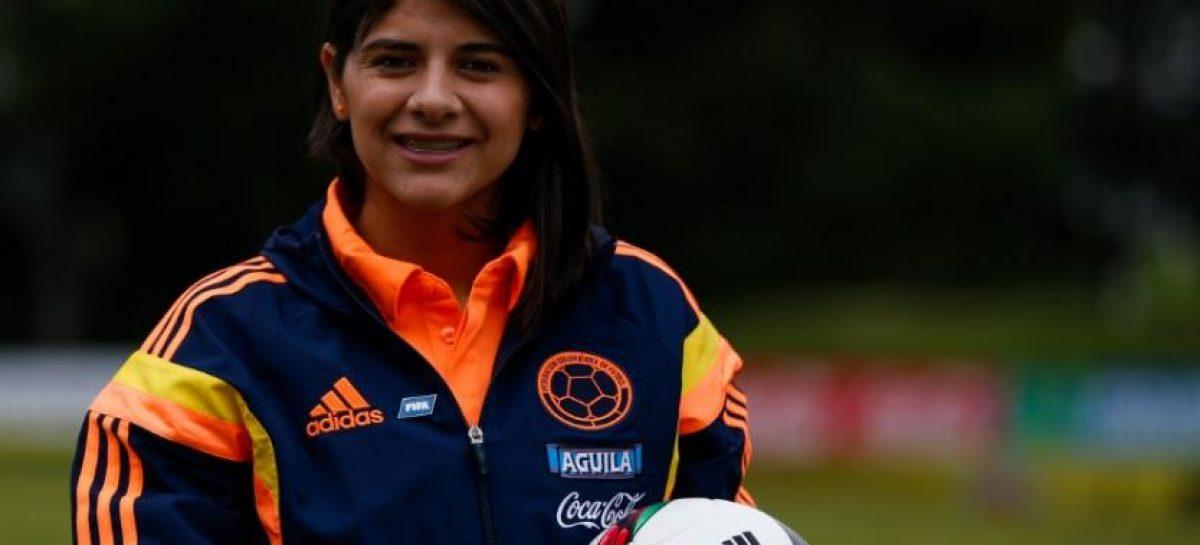 La marinilla Catalina Usme regresa a la Selección Colombia Femenina