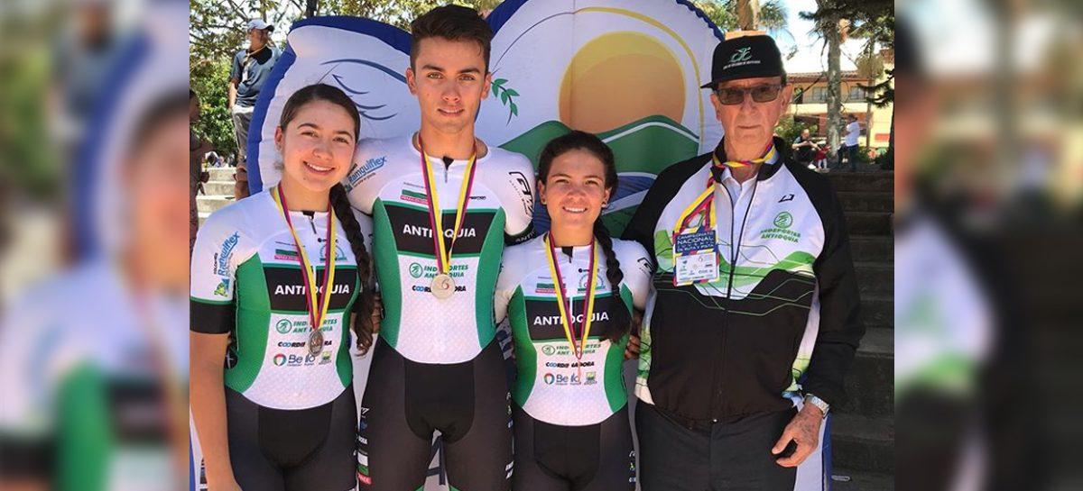 Ciclistas del Oriente subieron al podio en el Nacional Juvenil de Ruta