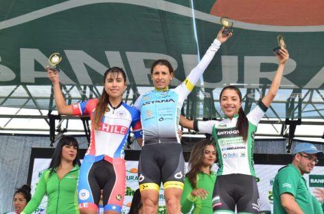 Erika Botero, entre las mejores de la Vuelta Femenina a Guatemala