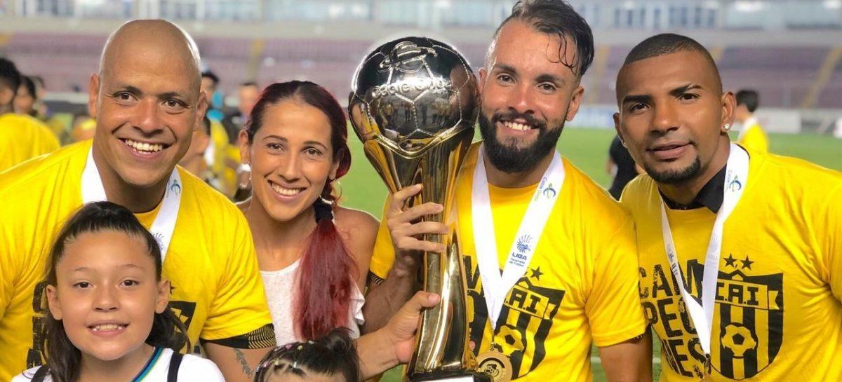 El cejeño David Uribe se coronó campeón en el fútbol de Panamá