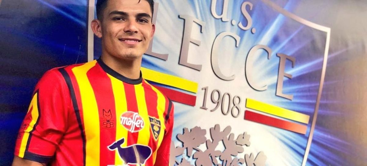 Brayan Vera firmó contrato con el Lecce de Italia