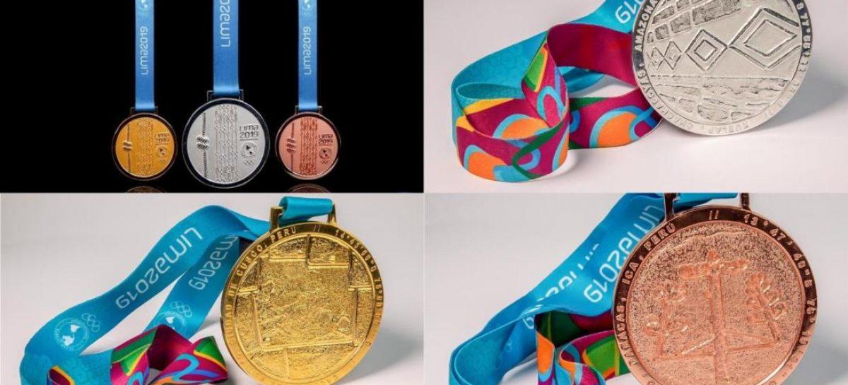 Así serán las medallas de los Juegos Panamericanos
