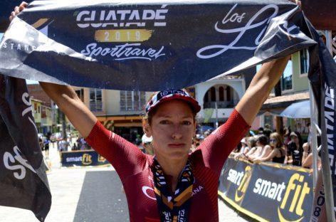 Una antioqueña y un boyacense, los ganadores de la Triatlón en Guatapé