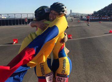 Laura Gómez obtuvo medalla de plata en los Juegos Mundiales de Patinaje en España