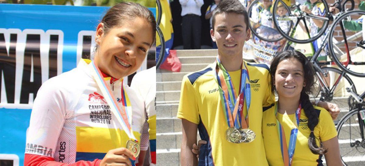 Tres ciclistas del Oriente correrán en el Mundial Juvenil de Pista en Alemania