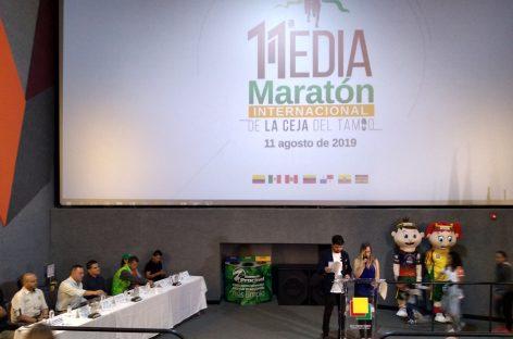 En La Ceja están listos para la versión 11 de la Media Maratón Internacional