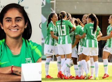 Carolina Arbeláez, capitana y referente de Atlético Nacional