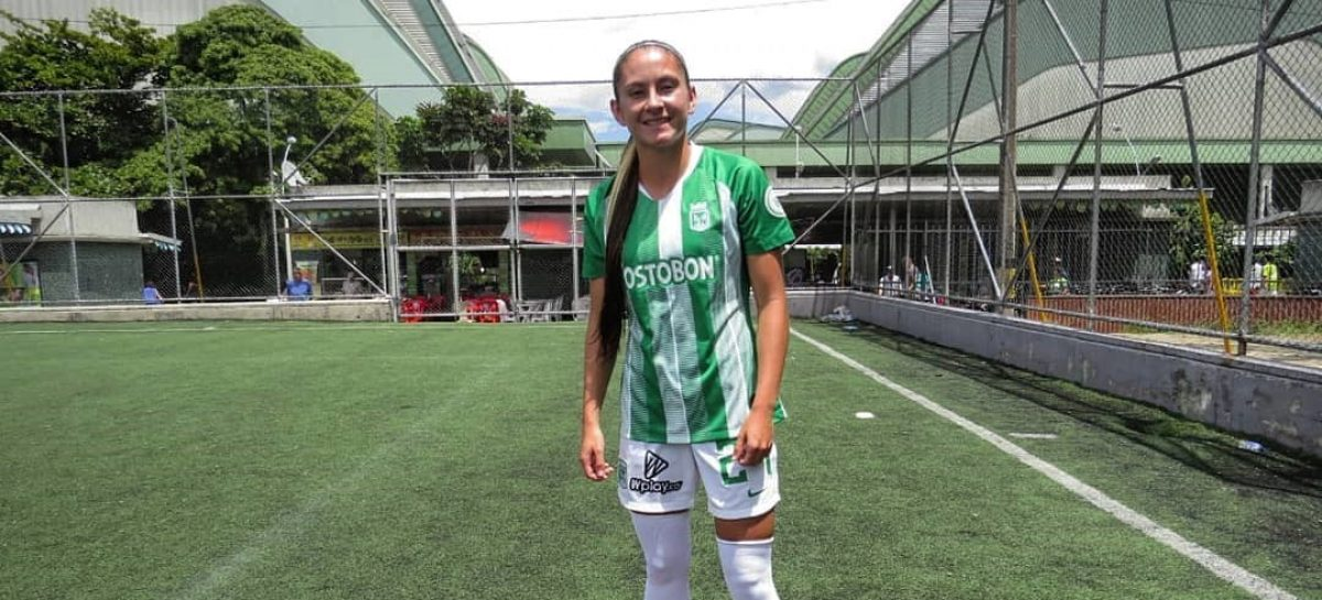 Viviana Múnera, otra futbolista del Oriente que es figura en Atlético Nacional