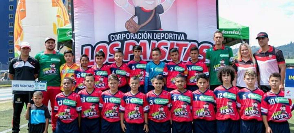 Rionegro se coronó campeón del Zonal Oriente del BabyFútbol