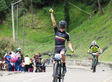 Jerónimo Bedoya ganó una nueva Válida de la Copa Colombia de MTB