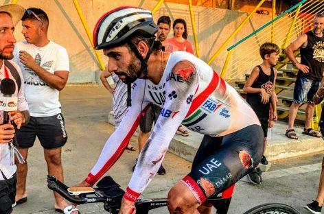 Infortunado debut de Fernando Gaviria en la Vuelta a España