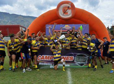 Con presencia de dos marinillos, Colombia se coronó campeón del Américas Rugby Challenge