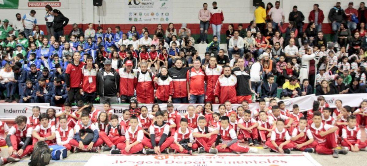 Marinilla vibrará con el Zonal Oriente de los Juegos Supérate Intercolegiados