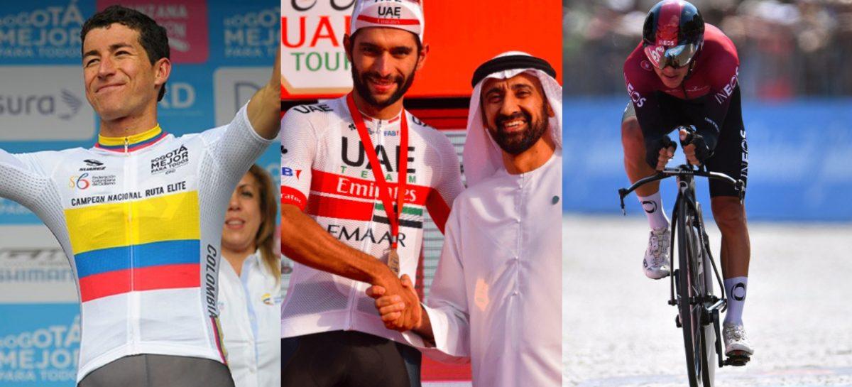 Los Henao y Gaviria, listos para la Vuelta a España