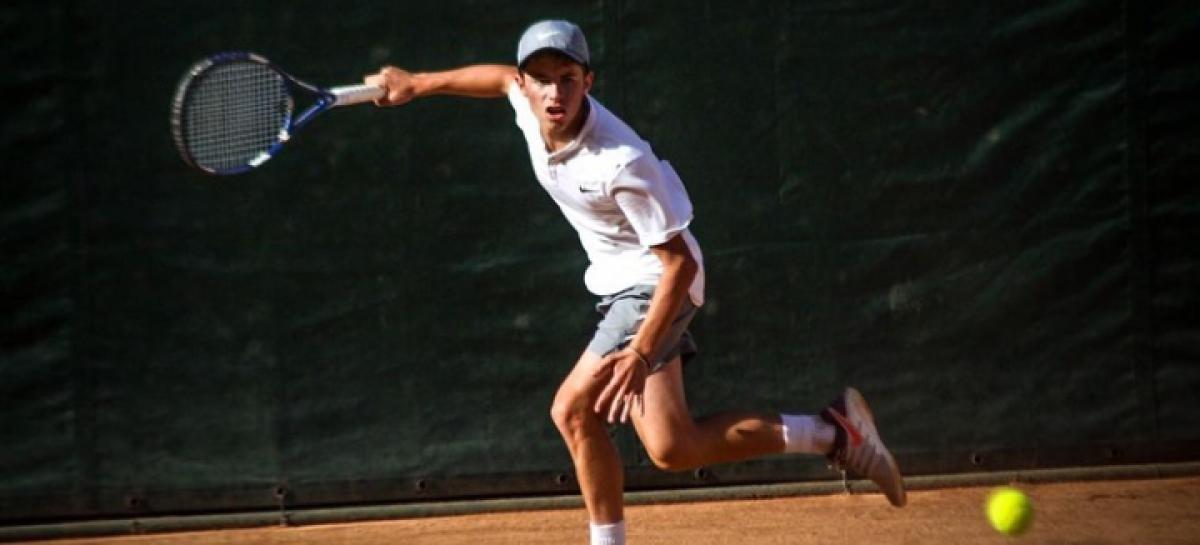 Thomas Cardona, el tenista más ganador en la gira de torneos por Colombia