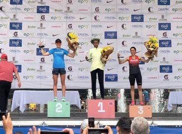 Atletas cejeños subieron al podio en la Maratón de Medellín