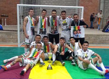 Quindío quedó campeón del Nacional de Fútbol de Salón en El Carmen